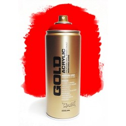 Montana GOLD - FIRE RED  400ml