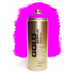 Montana GOLD - GLEAMING PINK  400ml