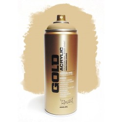 Montana GOLD - TRANSPARENT SAHARA BEIGE 400ml