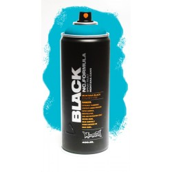 Montana BLACK 400ml - TRUE CYAN (TRBLK5000)