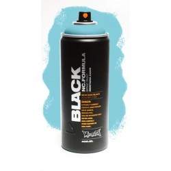 Montana BLACK 400ml - TRUE CYAN 50 % (TRBLK5010)