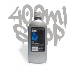 Grog Ful Metal Paint 200ml - chrom