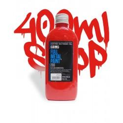 Grog Ful Metal Paint 200ml - Czerwony