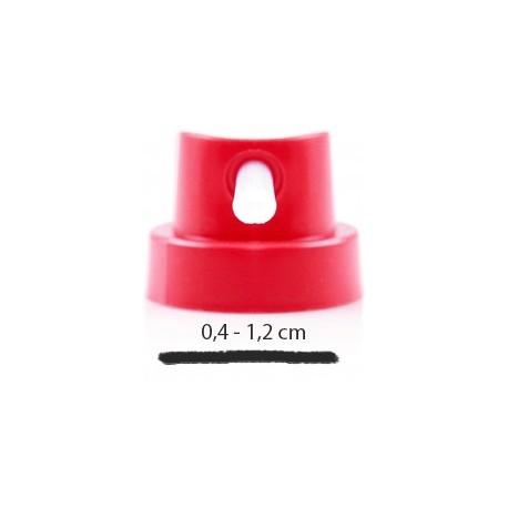 Końcówka Fat Cap Silver - Grubość : 8 - 11 cm