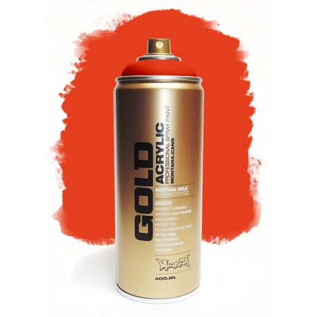 Montana GOLD - RED ORANGE  400ml