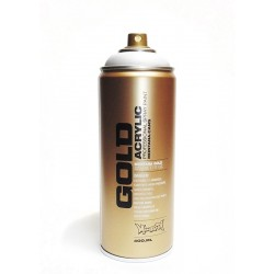 Montana GOLD - WHITE   400ml
