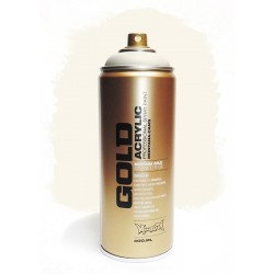 Montana GOLD - WHITE CREAM  400ml