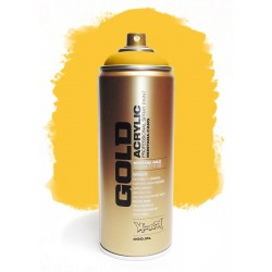 Montana GOLD - TRANSPARENT YELLOW  400ml