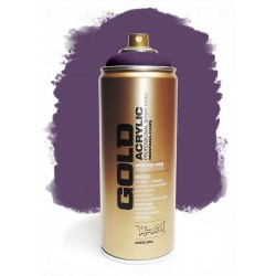 Montana GOLD - TRAnSPARENT BLACK PURPLE 400ml