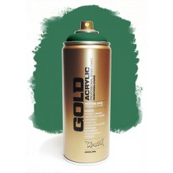 Montana GOLD - TRANSPARENT SMARAGD GREEN 400ml