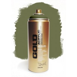 Montana GOLD - TRANSPARENT OLIVE GREEN 400ml