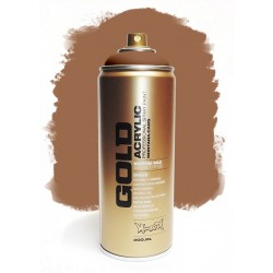 Montana GOLD - TRANSPARENT HAZELNUT  400ml