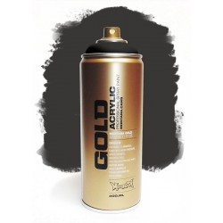 Montana GOLD - TRANSPARENT BLACK  400ml