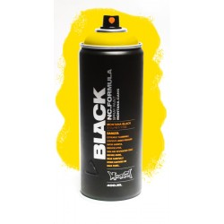 Montana BLACK 400ml - POWER YELLOW (P1000)