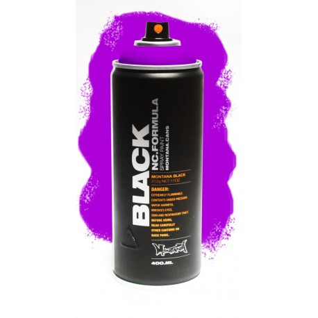 Montana BLACK 400ml - INFRA VIOLET (IN4500) Fluorescencyjna