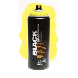Montana BLACK 400ml - TRUE YELLOW 50 % (TRBLK1010)